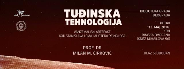Tuđinska tehnologija – vanzemaljski artefakt kod Stanislava Lema i Alistera Rejnoldsa