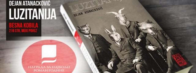 """Fantastično u romanu """"Luzitanija"""" – razgovor sa Dejanom Atanackovićem"""