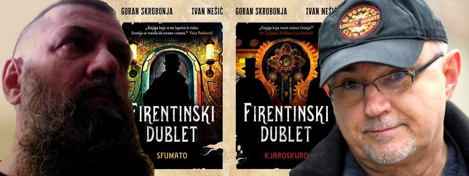 "Promocija duologije ""Firentinski dublet"" Gorana Skrobonje i Ivana Nešića"
